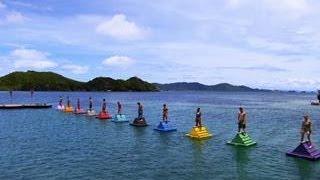 Survivor: Cagayan - Immunity Challenge:  Bermuda Triangles