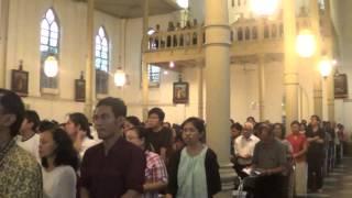 kemuliaan ; malam paskah 2013 - katedral bogor