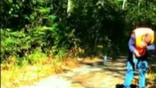 Shotgun Hang Fire - Nearly blows his head off