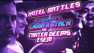 RYD - Hotel Battle - E. Farrell & Laugh N' Stalk vs Esem & Carter Deems