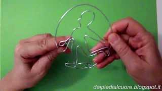 Correre sul fil di ferro: rompicapo, wire puzzle
