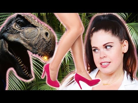 We Tried Outrunning A T. Rex In Heels Like In Jurassic World