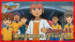 Inazuma Eleven Go Chrono Stones -Episodio 5 español «¡Prohibido el fútbol!»