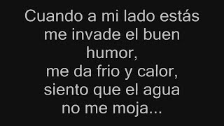Cuando A Mi Lado Estás - Ricardo Montaner - CON LETRA