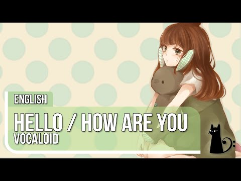 Hello How Are You jazz arrange English Cover by Lizz Robinett