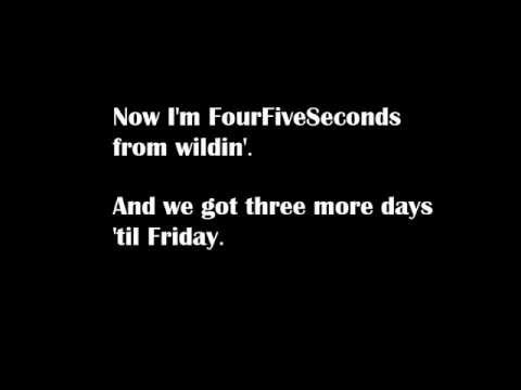 Rihanna - Four Five Seconds ft. Kanye West & Paul McCartnery [LYRICS]