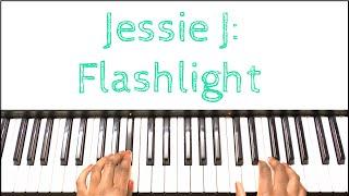 Jessie J - Flashlight: Piano Tutorial