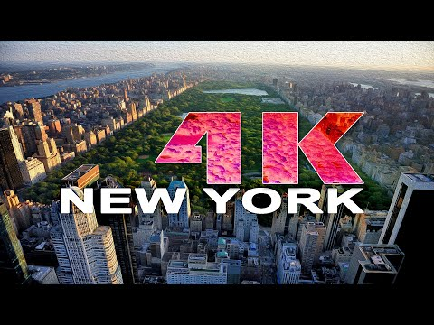 MANHATTAN NEW YORK CITY NY UNITED STATES A TRAVEL TOUR 4K UHD