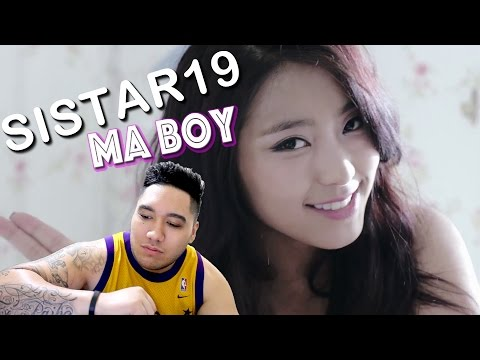 SISTAR19 (씨스타19) - Ma Boy Music Video REACTION!!!