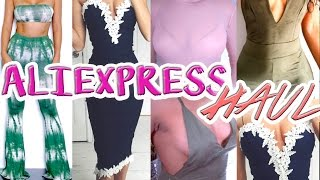 ALIEXPRESS INSTAGRAM BADDIE HAUL | $6 AND UP // CHEAP AND AFFORDABLE FASHION NOVA DUPES