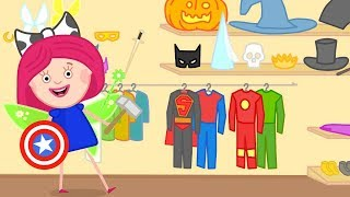 Smarta and her Magic Bag. Colors & numbers for kids.