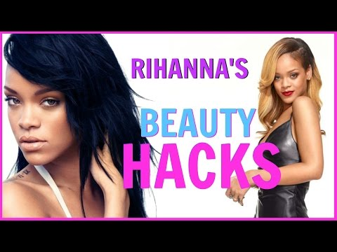 RIHANNA'S BEAUTY HACKS EVERY GIRL SHOULD KNOW│HOW TO GET FLAWLESS SPOTLESS SKIN│DIY BEAUTY SECRETS