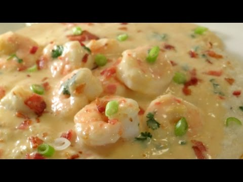 Shrimp and Grits Recipe - Full of Southern Goodness! :)  How to Make