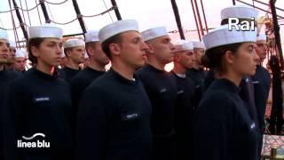 Marina Militare - Linea blu Cartoline da Nave Vespucci - Boston (USA)