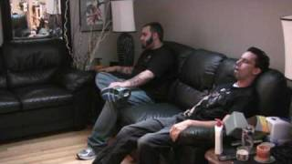 Two Guys Watching Porn