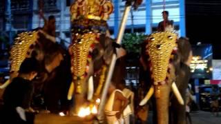 Kottayam Thirunakkara Temple Festival Aarattu (final day of festival)