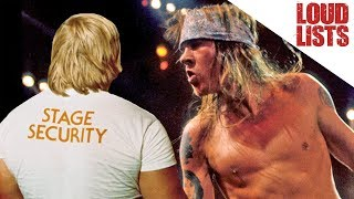 10 Unforgettable 'Band vs. Security' Moments