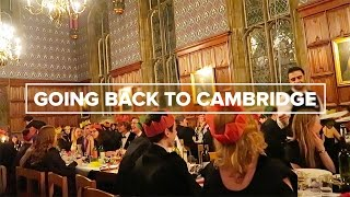 Going back to Cambridge!