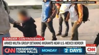 """""""Armed Militia Group Detaining Immigrants Near The U.S. Mexico Border!"""""""