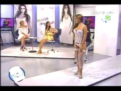 Nueva Coleccion pasarela Besame Modelos Colombianas en Hilos Dentales