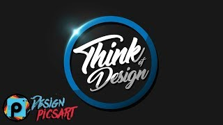 Picsart tutorial Making professional logo design