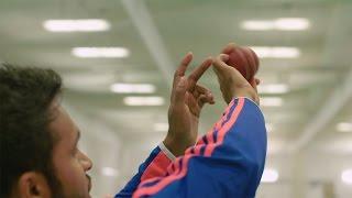 England spin bowler Adil Rashid - how to bowl a googly