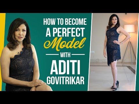 Xxx Mp4 Aditi Govitrikar Busts Myths About Modelling How To Be The Perfect Model Fashion Pinkvilla 3gp Sex