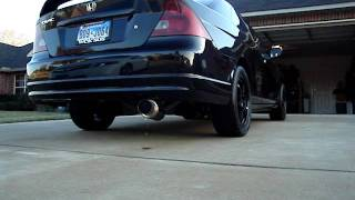 HKS Hi-Power Exhaust 2001 Civic