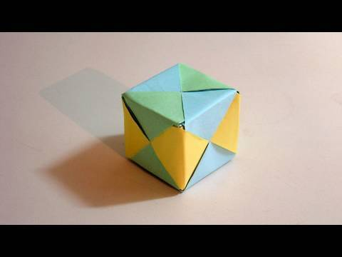 Origami Cube Sonobe