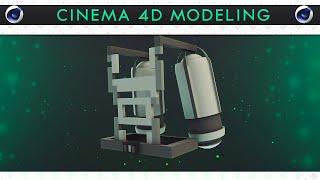 Cinema 4D modeling - speedart Jet-Pack [FREE DOWNLOAD]