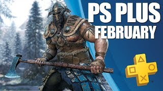 PlayStation Plus Monthly Games - February 2019