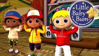 Head Shoulders Knees and Toes | Nursery Rhymes | By LittleBabyBum!