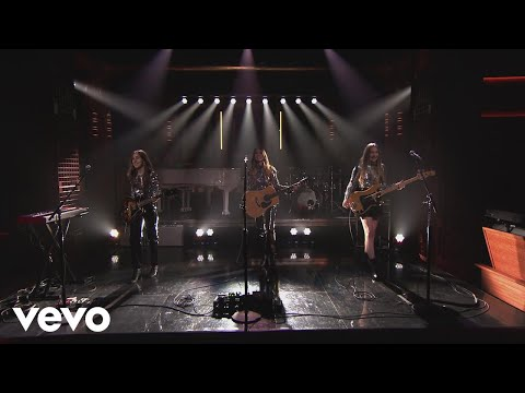HAIM Want You Back Live from The Tonight Show Starring Jimmy Fallon