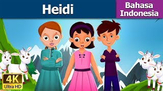 Heidi in Indonesian - Dongeng bahasa Indonesia - Dongeng anak - 4K UHD - Indonesian Fairy Tales