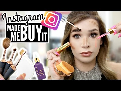 FULL Face using INSTAGRAM HYPED Makeup WORTH IT or TOSS IT PART II