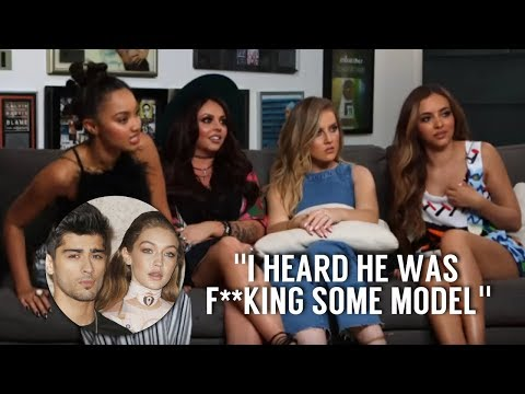 Little Mix shading Zayn Malik and Gigi Hadid for 4 minutes