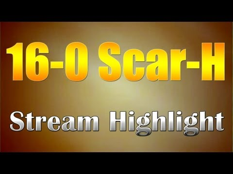 Live 16-0 Scar-H on Standoff (Black Ops 2 Search and Destroy)
