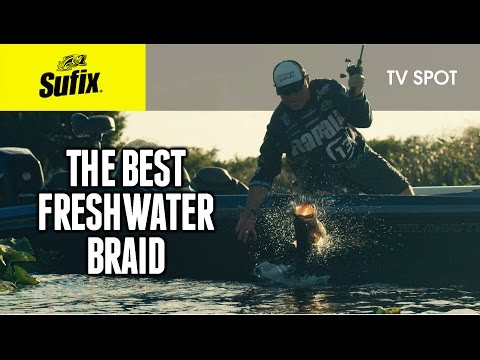 The best freshwater braided line: Sufix® 832 Advanced Superline