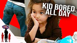 Kids Bored As Mother Cleans House All Day - Supernanny US