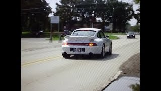 Ride in Greatest Air Cooled Porsche 1997 911 993 Turbo S ? Why not! My Car Story with Lou Costabile
