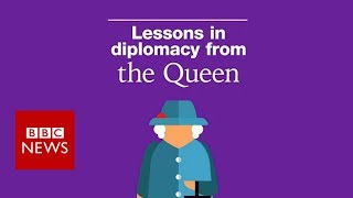 What Trump could learn from the Queen - BBC News
