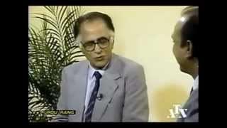 Ashfaq Hussain interviews Ahmed Nadeem Qasmi (Toronto, Canada - 1992)