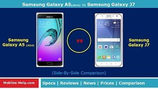 Samsung Galaxy A5 2016 vs Samsung Galaxy J7 -Which is Best?
