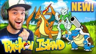 MEGA POKEMON HYPE (+ CRAZY LUCK)! - Pixelmon Island #7 w/ Ali-A