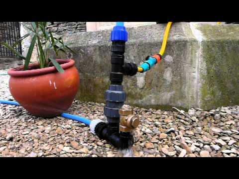 Plastic Hydraulic ram pump