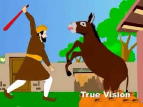 Urdu Cartoon Kahani: Kumhaar Ka Gadha
