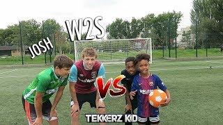 TEKKERZ KID vs W2S   Bro vs Bro Woodwork Challenge!!