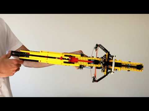 Lego C Bow .50 V2 Sniper working