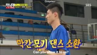 [ENG] Running Man Episode 301 - Lee Kwang Soo joins a student for Mosquito Dance 😂