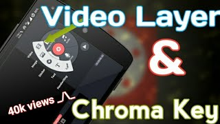 Enable chroma key/video layer option of KINEMASTER app on *Any Android Device*